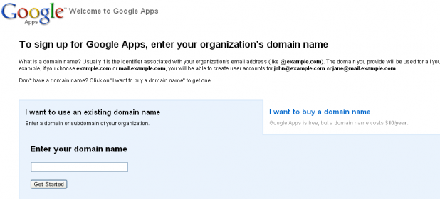 Google Apps Step 2